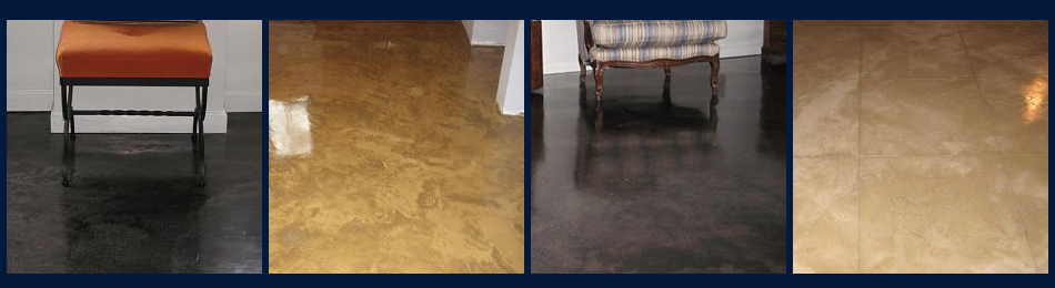 Decorative concrete flooring in Westchester County New York area